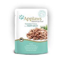 Applaws Pouch Jelly Tuna 16 x 70g - Pet Products R Us