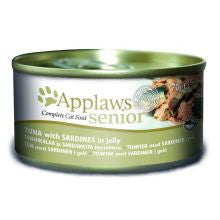 Applaws Senior Tuna & Sardine 24 x 70g - Pet Products R Us