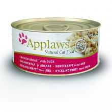 Applaws Chicken & Duck 24 x 70g - Pet Products R Us