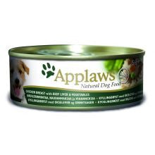 Applaws Chicken & Beef 12 X 156g Tins - Pet Products R Us