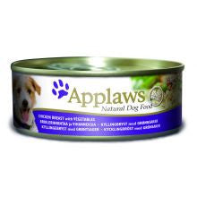 Applaws Chicken & Veg 12 X 156g Tins