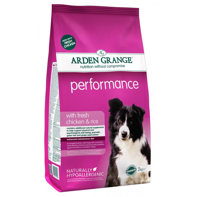 Arden Grange Adult Performance - Pet Products R Us