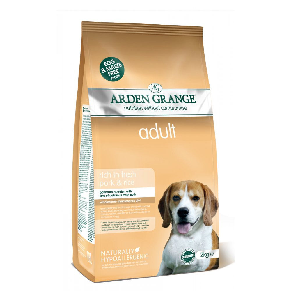 Arden Grange Adult Pork & Rice - Pet Products R Us