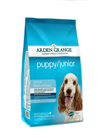 Arden Grange Puppy/ Junior - Pet Products R Us