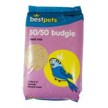 Bestpets 50/50 Budgie - Pet Products R Us