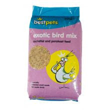 Bestpets Cockatiel & Parakeet Exotic Bird Mix