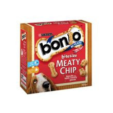 Bonio Meaty Chip Bitesize 400g Box - Pet Products R Us