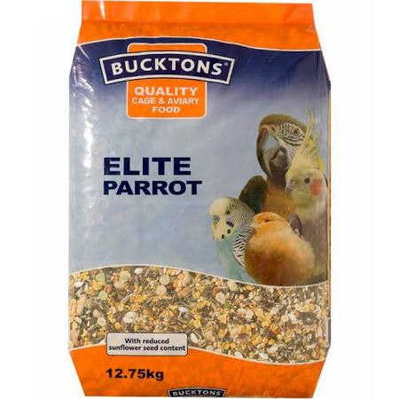 Bucktons Elite Parrot 12.75kg - Pet Products R Us