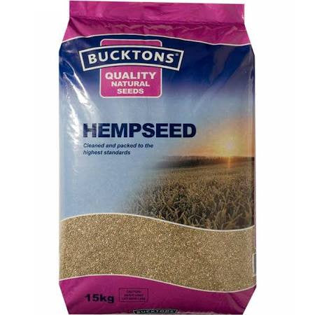 Bucktons Hemp seed 15kg - Pet Products R Us