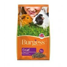 Burgess Excel Adult Guinea Pig Nuggets with Blackcurrant & Oregano 2kg - Pet Products R Us
