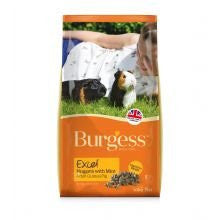 Burgess Excel Adult Guinea Pig Nuggets with Mint - Pet Products R Us