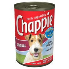Chappie Original 12 x 412g Tins - Pet Products R Us