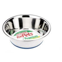 Classic Non Slip Steel Dish - Pet Products R Us