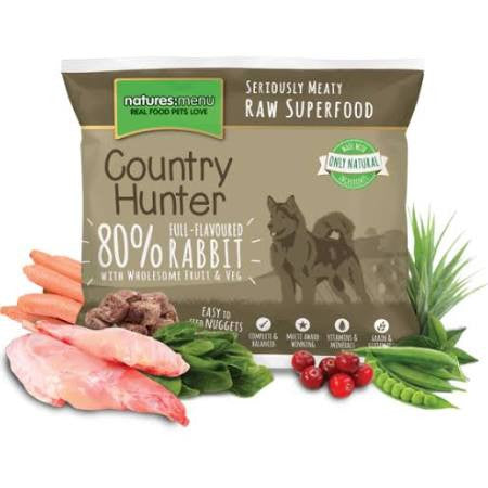 Country Hunter Full-Flavoured Rabbit Nuggets 1kg