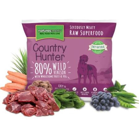 Country Hunter Wild Venison Nuggets 1kg