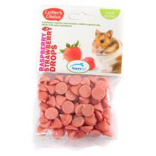 Critter's Choice - Raspberry & Strawberry Drop 75g - Pet Products R Us