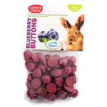 Critters Choice Blueberry Buttons 40g - Pet Products R Us