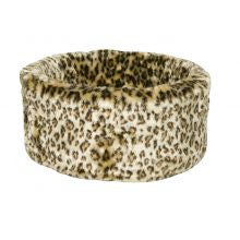 Danish Design Cat Cosy Bed Leopard Bed - Pet Products R Us