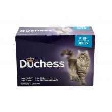 Duchess Pouch Fish Jelly 100g x 12 - Pet Products R Us