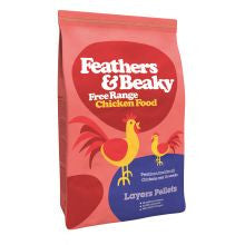 Feathers & Beaky Layer Pellet 5kg - Pet Products R Us