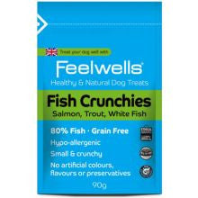 Feelwell Crunchies Fish 90g
