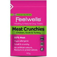 Feelwell Crunchies Meat 90g - Pet Products R Us