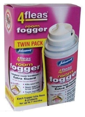 4fleas room fogger twin pack - Pet Products R Us