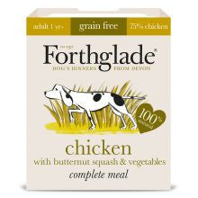Forthglade Complete Grain free Adult Chicken & veg 395g x 18