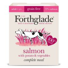 Forthglade Complete Grain free Adult Salmon & veg 395g x 18