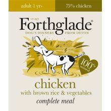 Forthglade Complete Adult Chicken With Brown Rice & Veg 18 x 395g
