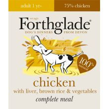 Forthglade Adult Complete Chicken With Liver & Brown Rice 18 x 395g