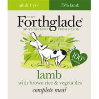Forthglade Complete Meal Adult Lamb with Brown Rice & Vegetables 18 x 395g