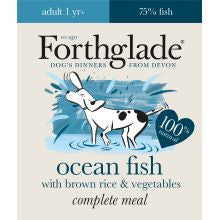Forthglade Complete Adult Fish With Brown Rice & Veg 18 x 395g