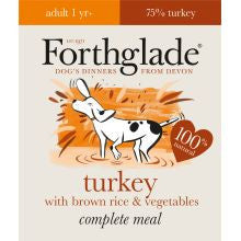 Forthglade Complete Meal Adult Turkey with Brown Rice & Vegetables 395g x 18