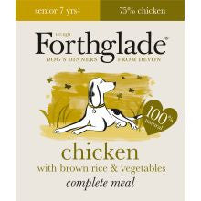 Forthglade Complete Senior Chicken With Brown Rice & Veg 18 x 395g