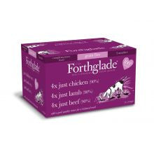 Forthglade Just 90% Multicase Grain Free multiPack 12 x 395g