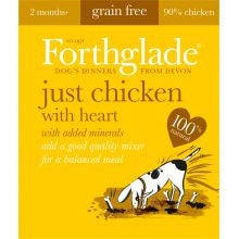 Forthglade Natural Menu Grain Free Chicken With Heart 18 x 395g