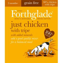 Forthglade Natural Menu Grain Free Chicken With Tripe 18 x 395g