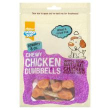 Good Boy Deli Chicken Munchy Dumbbells 100g - Pet Products R Us