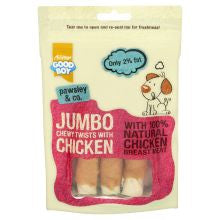 Good Boy Jumbo Chewy Twists 100g - Pet Products R Us