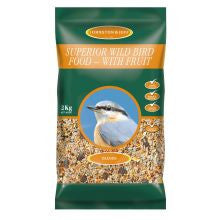 Johnston & Jeff Superior Wild Bird - with Fruit - Pet Products R Us