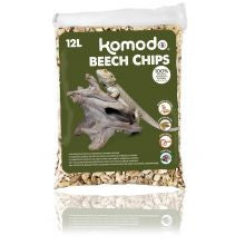 Komodo Beech Chips Course 6ltr - Pet Products R Us