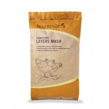 Marriages Farmyard Layers Mash 20kg - Pet Products R Us
