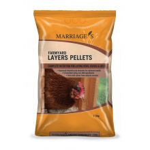 Marriages Specialist Foods Layers Pellets 7.5kg - Pet Products R Us