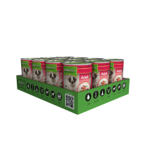 Natures Menu Beef & Chicken Can 12 x 400g - Pet Products R Us