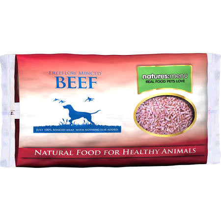 Natures Menu Free Flow Just Beef Mince 2kg