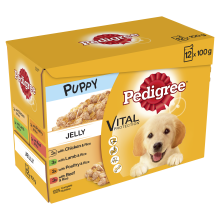 Pedigree Pouch Puppy Jelly 100g x 12