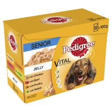 Pedigree Pouch in Jelly Senior 100g x 12