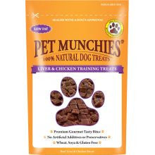 Pet Munchies 100% Natural Liver & Chicken Training Treat 50g - Pet Products R Us