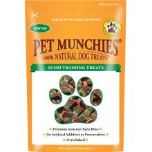 Pet Munchies 100% Natural Sushi Training Treat 50g